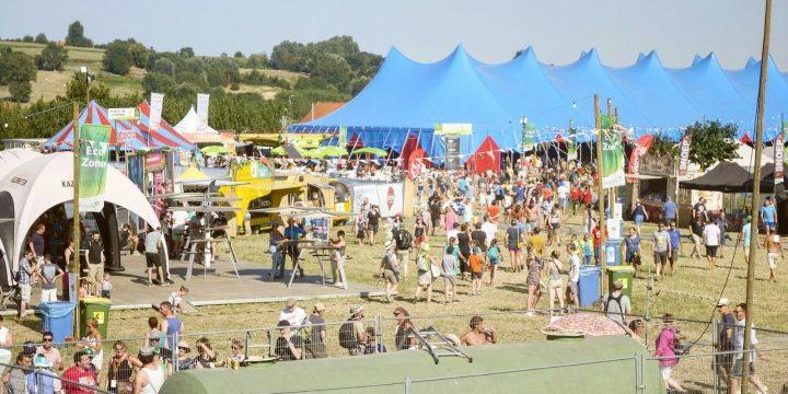 ECOZ® Mobile zuivert duizenden liters grijs water op Dranouter Festival